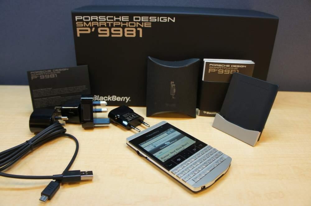 شراء Ramadan promo Blackberry Porsche Design & BB 10 (Arabic Keyboard & Special Pins)