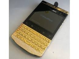 شراء 24k Blackberry Porsche Design Pure gold 28F41726