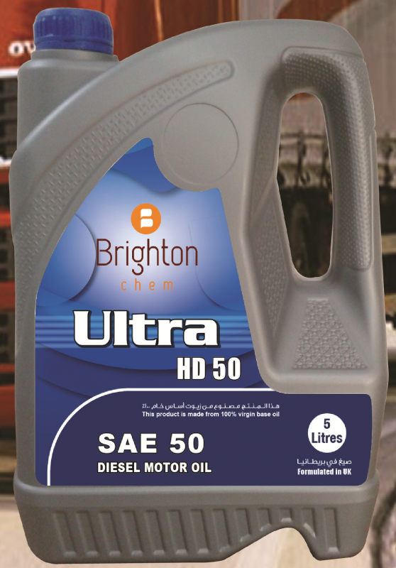 Brighton Ultra HD SAE 50 API CF Diesel Engine Oil