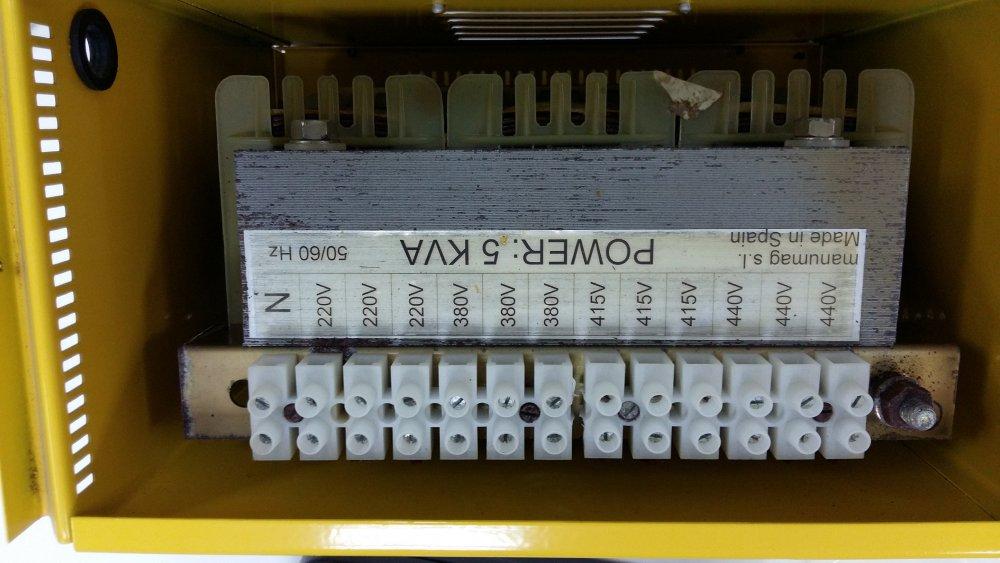 شراء 3 phase step up step down transformer Manumag old but unused
