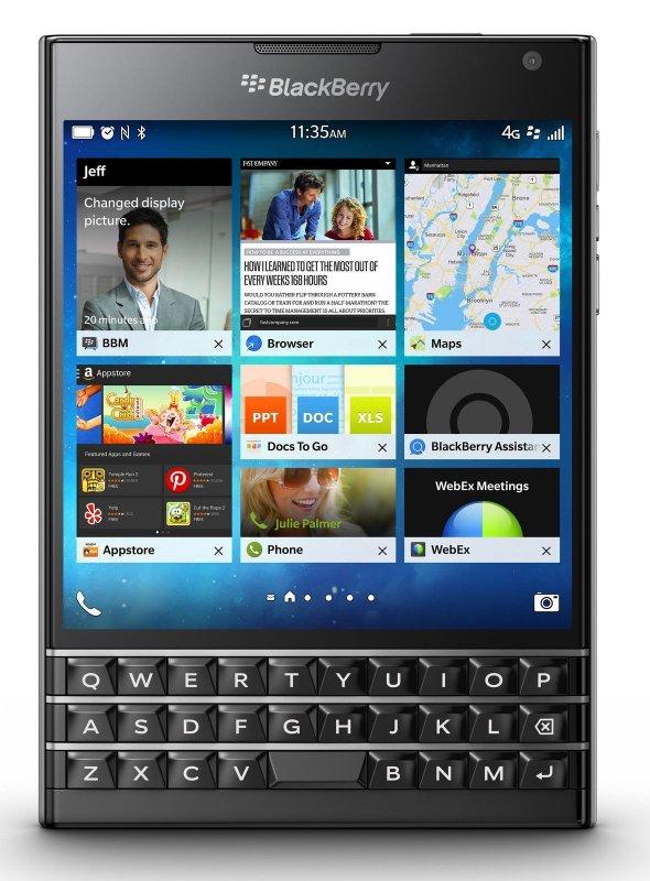 شراء BlackBerry Passport 32GB Unlocked GSM 4G LTE 13MP Quad-Core Smartphone - Black