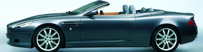 شراء Aston Martin( DB9 volante)