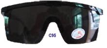 Glasses of the welder