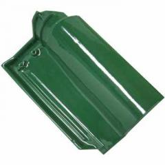 Green Glazed Roof Tiles