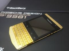BlackBerry Porsche Gold / Apple Iphone 5 Gold / Samsung Galaxy S4