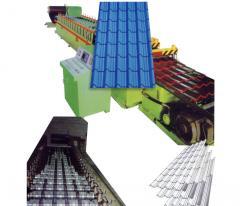 Mett Tile Roll Forming Mach