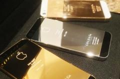 Brand new apple iphone 5 and 5s,24 carat gold