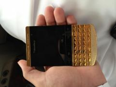 24k Blackberry Porsche Design Pure gold 28F41726