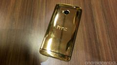 HTC one 24 carat gold