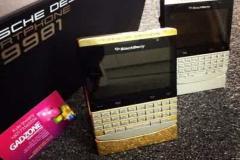 New Vip Pin Blackberry Porsche P9981 (Gold, Silver & Black) & Apple Iphone 5s