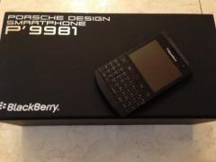 Selling Blackberry Porsche P'9981 Black With VIP Pin
