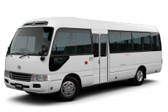Armored bus Toyota Coaster