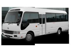 Armored bus Toyota Coaster
