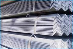 Hot dip steel angles