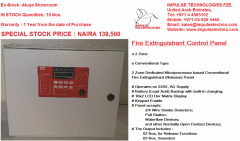 Fire Extinguishant Controller