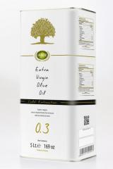 Cretan Myron ,Cretan Extra Virgin Olive Oil, First Cold Pressed (Tin Can)