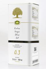 Cretan Myron ,Cretan Extra Virgin Olive Oil, First Cold Pressed (Tin Can)