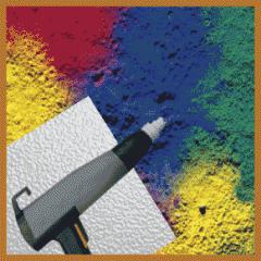 Powder coating - مسحوق الدهان