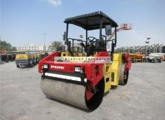 ROLLER - DOUBLE DRUM DYNAPAC – CC384HF 9.4-TONS 2010