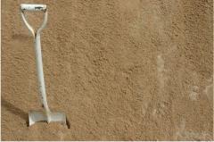 Washed sand