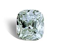 الماس وسادة