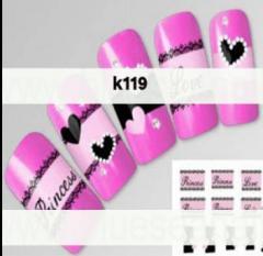 Fake nails decoratif
