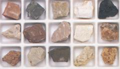Rock materials produce