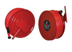 Fire hoses latexed