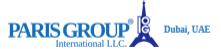 Paris Group International, ltd, دبيّ