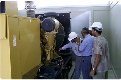 طلب Different Electrical & Mechanical Activities