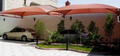 مظلات السيارات الرياض